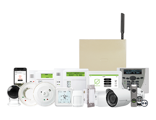 full home wired security