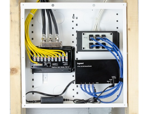 residential structured wiring and cabel management